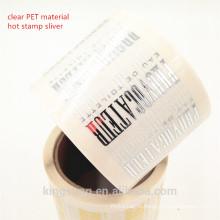 высокое качество пользовательских печати косметическая этикетки с ламинацией, пр УФ, лазер, золотой штамп