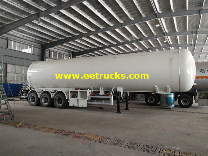 54 CBM LPG Gas Tanker Semi-trailers