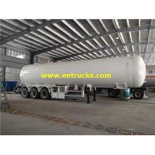 54 CBM Tri-axle LPG Gas Tanker Semi-trailers