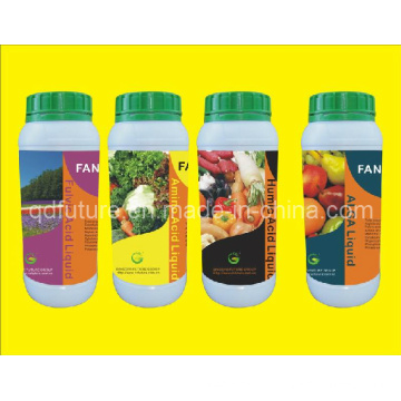 Fertilizante orgânico líquido em produtos de fertilizantes orgânicos