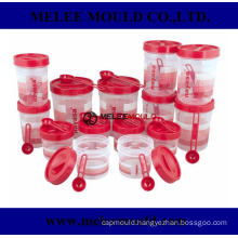 Plastic Container Set of 14 Size Large Mold