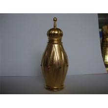 Garrafa de perfume do metal 15ml com o tampão de parafuso de metal (MPB-01)