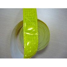 cinta de cristal reflectante de PVC reflectante alta visibilidad verde