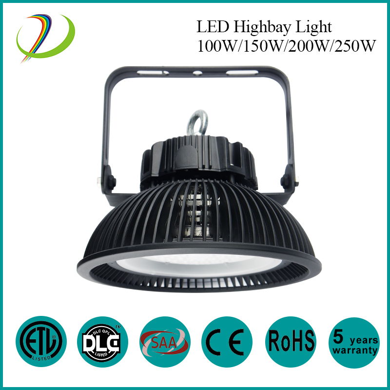 High Lumen 130lm / w 100w LED Bay Light