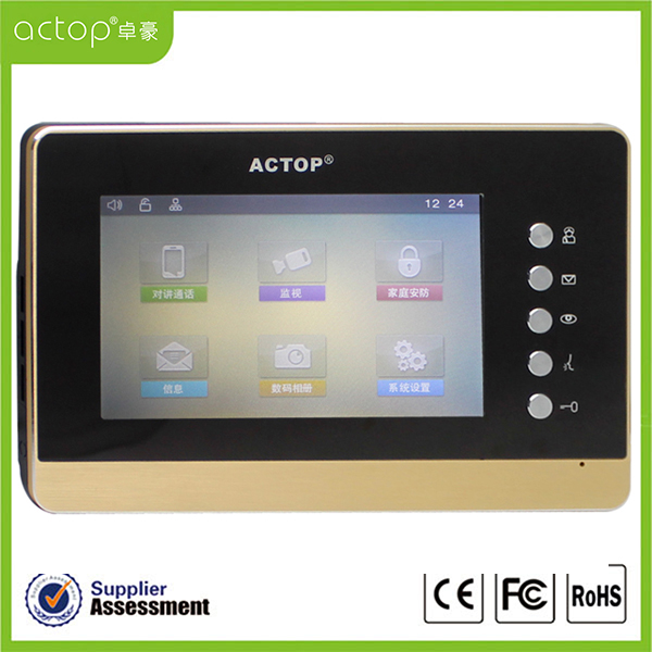 TCP IP Video Door Intercom