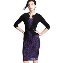 Woman Elegant Slim Office Dress Casual Party Evening Dress