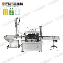 High Speed Full Automatic Bottle lid Pressing Container Jar Screw Sealing Capping Machine For Cosmetics Bottles for factory