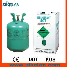 Incolore, Pas nuageux, Pas de Smelly R507 Gaz réfrigérant mixte
