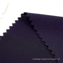 Navy blue eco friendly stretch polyester knit interlock recycled fabric for sportswear