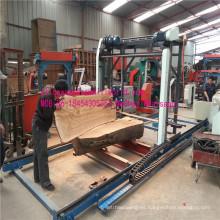 Máquina de la Sierra de aserradero portátil madera Sierra de cadena a gran escala