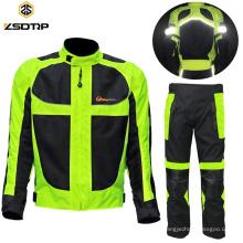 Motorradjacke reflektierende wasserdichte Schutzkleidung anpassen Motogp Rennanzug Motorradanzug Leder Racing Hose