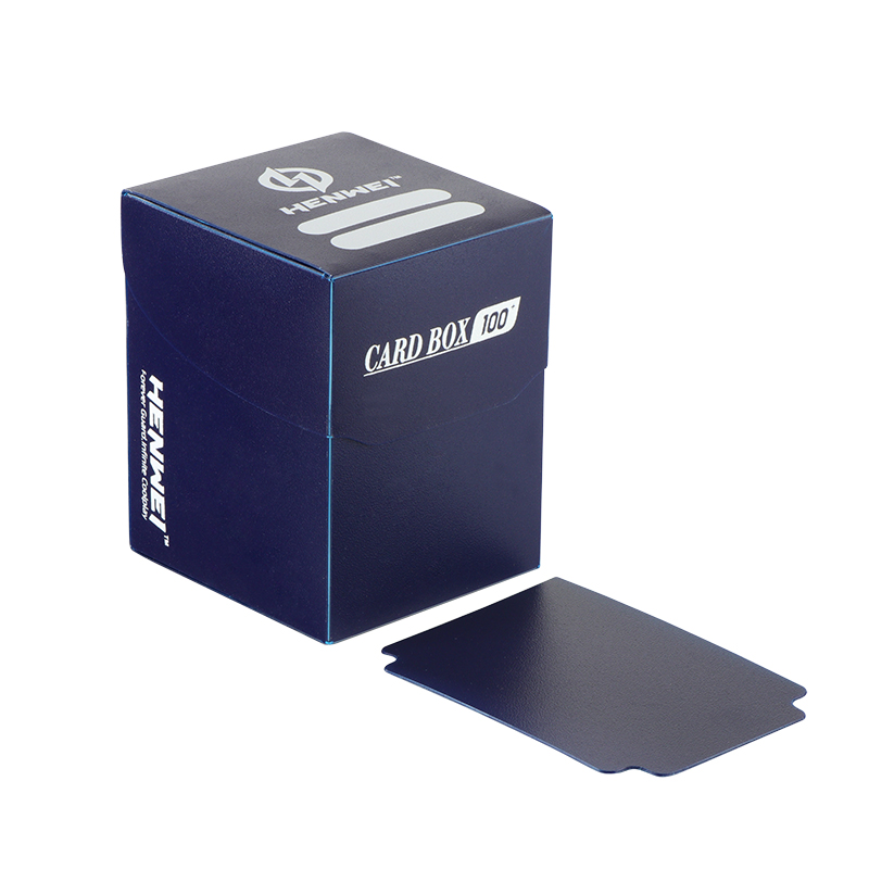 High quality game card plastic collection packaging boxes