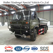 Camión de riego del agua de 9cbm Dongfeng Euro V con el rociador lateral
