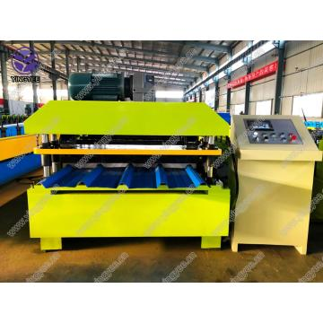 Metal Roof Sheet Roll Froming Maskinpris