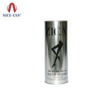 Wholesale Tin for Packaging of Clothes Custom Long Cylinder Aluminium Can Apparel