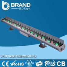 Высокая яркость IP65 36w RGB LED шайба стены 36 * 1w