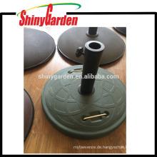 Sonnenschirm Sonnenschirm Runde Basis, Beton Gewicht Basis mit Griff