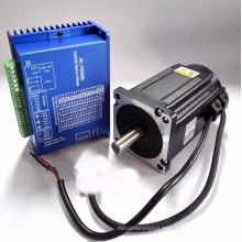 Bipolar 2phase closed loop nema34 stepper motor system 6.0A 8.5N.m