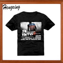 Baumwoll-Twill Herren T-Shirt