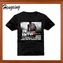 T-shirt dos homens da sarja do algodão