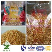 Hongsheng granulado de alho frito em pequenas embalagens