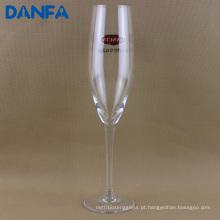 Flauta de champanhe 120ml com impressão do logotipo (CF023)