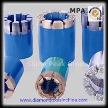 Aceite de diamante broca de perforación para el campo petrolífero