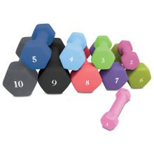 1lb bis 15lb Gewicht verlieren Gym Übung Hexagon Neopren Hantel