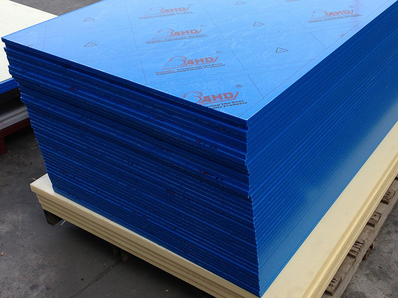 blue Plastic Hdpe Sheets