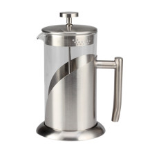 Caffettiera classica in vetro French Press con base resistente