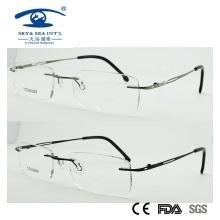 Rimless Slim 2015 Титановые легкие оптические рамки (1018)