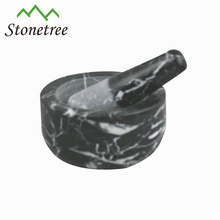 Hot Selling Granite Stone Kitchen Cookware Mortar and Pestle Herb Grinder