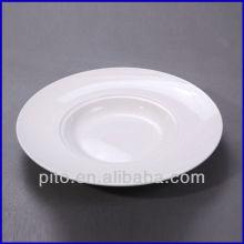 Plaque de porcelaine en pâte occidentale