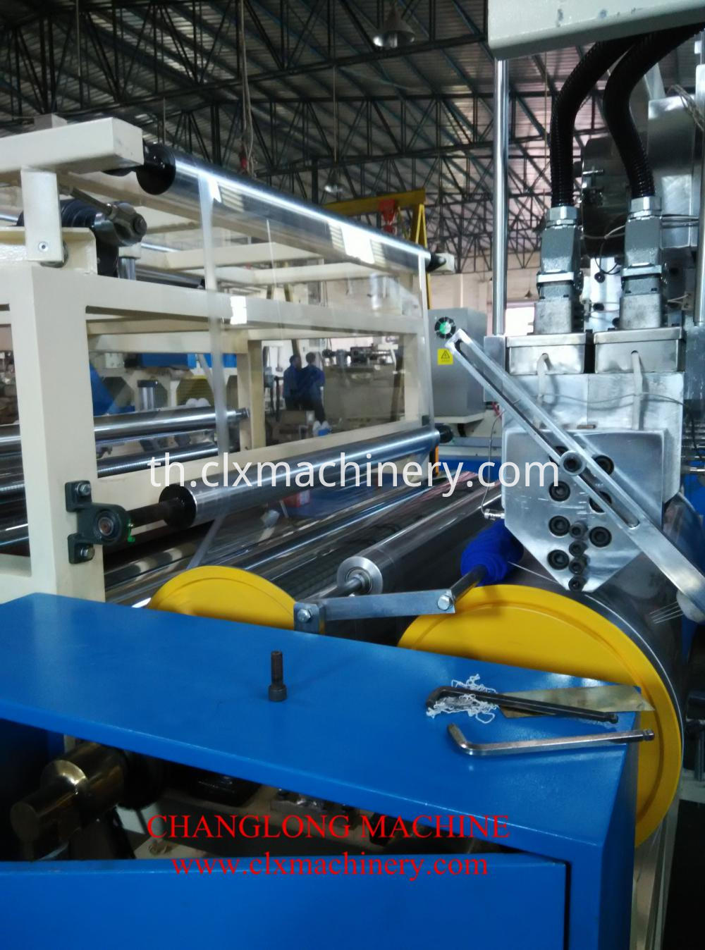 LLDPE plastic film machine
