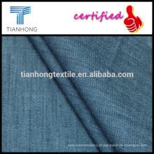 tecido de algodão/lycra spandex/tencel elastano/skinny jeans tecido de algodão/sarja tecido/jeans tecido/algodão fio tingido tecido