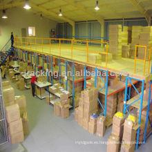 China fabricante Jracking capa de acero recubrimiento mezanine / plataforma