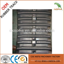 Rubber track for harvester machine,agriculture rubber track