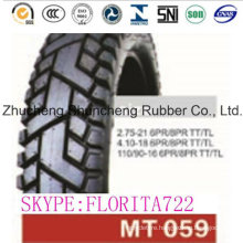 Cheap High Quality 90/90-18 4.10-18 Motorcycle Tire and Tube