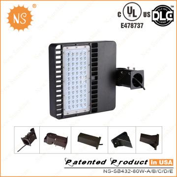 UL (478737) Dlc IP65 8000lm 80W LED Retrofit Kits Parking Lot