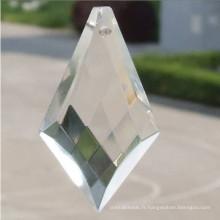 Pièces de cristal de Quartz gros chinois pour cristaux de lustre