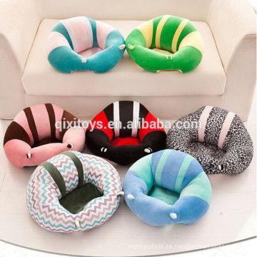 Diseño único nuevo modelo sofá sofá del niño mesa de peluche divertido peluche juguetes de peluche para bebé sentado