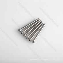 Parafusos de aço inoxidável dos prendedores do hardware do OEM, parafusos da cabeça do botão M3