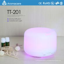 Bunter Aroma-Sorgfalt-Luftbefeuchter LED-Dekoration CER RoHS 300ml