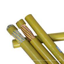 EPDM compoundé caoutchouc irradiation matériau de réticulation gaine Co2 câble de soudage