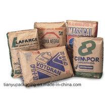50kgs Valve Bag Kraft Paper for Cement Sand Talcum Powder