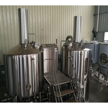 Паровая пивоварня 1000л Пивоваренный завод