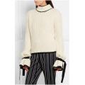 Aufflackern-Hülsen-hübsche gestrickte Strickjacke-Frauen-Kleidung