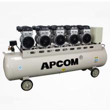 APCOM EX1500*5-230L 7.5 kw Oil Free Air Compressor Piston 7.5kw With 230 Liter Air Tank