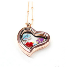 Fashion Jewelry 30mm Heart Shaped Floating Charms Locket