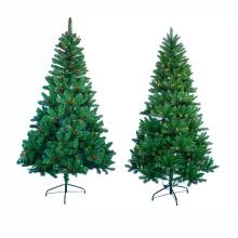 Mini árvore de Natal artificial iluminada conduzida do pinho